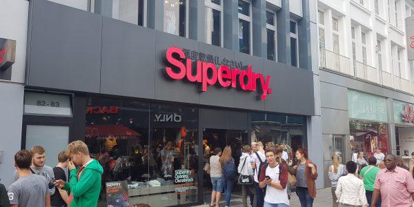 Nieuwe winkel in Centrum Osnabruck.