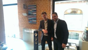 Stefan en Ron Bowers en Wilkins